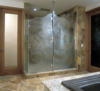 custom-glass-shower-door-with-unique-shape-and-